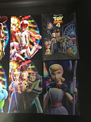 Toy Story 4 Collectible Mini Posters/Cards for Sale in North Las Vegas, NV