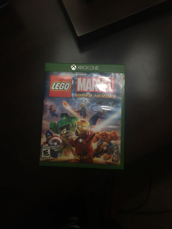 Lego marvel super heroes Xbox game