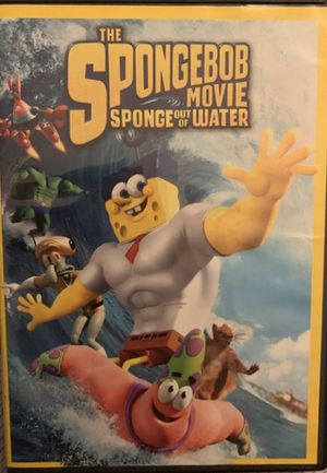 Spongebob out of water movie for Sale in Moreno Valley, CA