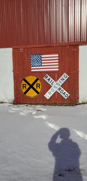 Real railroad signs full scale for Sale in Menomonie, WI