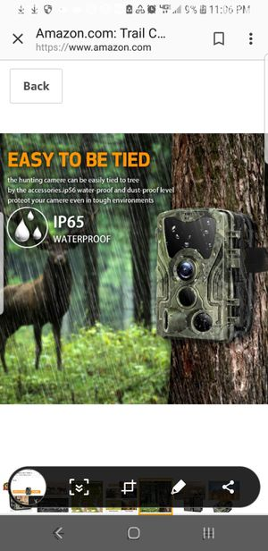 Infrared trail camera, nightlights can be use to check who is checking you for Sale in San Dimas, CA