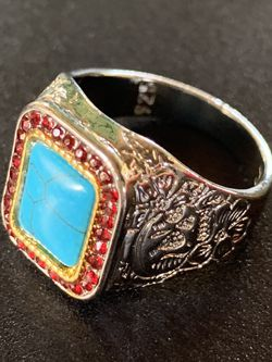 Sterling Silver Turquoise Ring for Sale in Bohemia,  NY