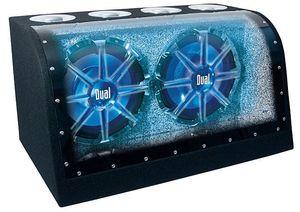"Dual 12"" IllumiNITE (blue LED) subwoofer /w Amp for Sale in Wichita, KS"