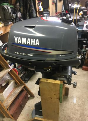 Yamaha 4HP Longshaft Tiller Outboard for Sale in North Bergen, NJ