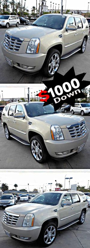2007 Cadillac EscaladeAWD 137k, for Sale in South Gate, CA