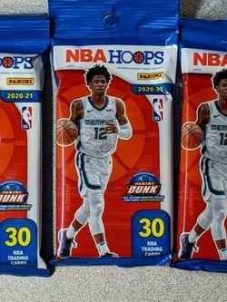 NBA HOOPS FAT PACKS 2020-21 for Sale in Cornelius,  OR