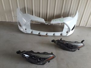 2017-2018 Corolla LE- ALE Front Bumper and Headlights for Sale in Jurupa Valley, CA