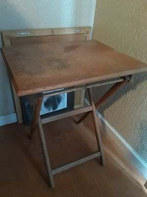 TV tray wood for Sale in Modesto, CA