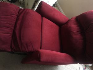 Red recliner for Sale in Laveen Village, AZ