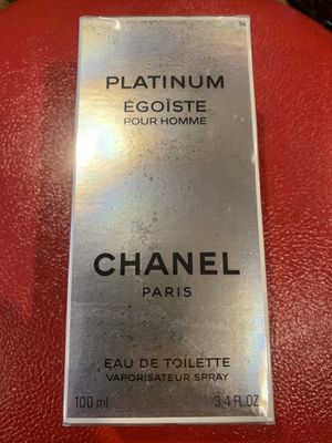 Authentic CHANEL perfume Platinum Egoiste for Men / GREAT DEAL! for Sale in Bell, CA