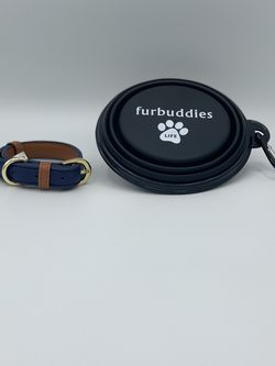 Dog Collar and Bowl Set for Sale in Morgan Hill,  CA