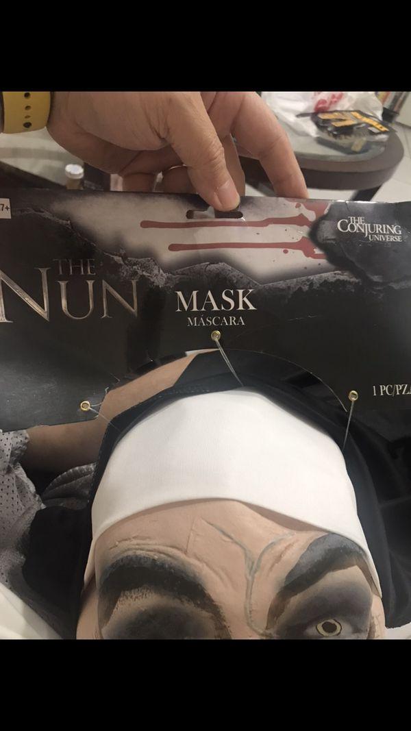 2018 THE NUN extremely lifelike Halloween mask $40 LAST ONE!