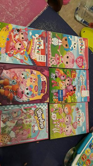 Lalaloopsy lalaoopsies and shopkins dvds for Sale in NO FORT MYERS, FL