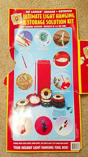 Christmas Light Storage Kit for Sale in US