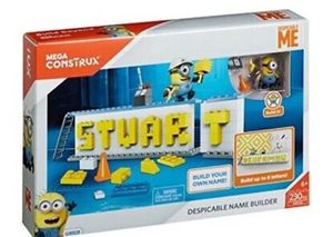 Despicable Me Stuart name Builder Set for Sale in Los Angeles, CA