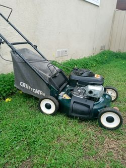Craftsman Powered By Honda 5.5 HP Push Lawn Mower Ready To Use for Sale in West Covina,  CA