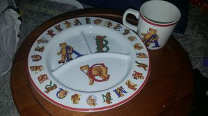 Abc bears tiffany & co plate set for Sale for sale  Menifee, CA