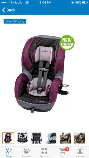 Evenflo convertible car seat for Sale in Las Vegas, NV