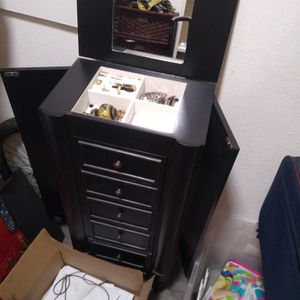 Jewelry Organizing Cabinet for Sale in Tempe, AZ