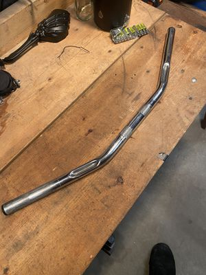 Motorcycle 1in chrome drag bars for Sale in Montoursville, PA