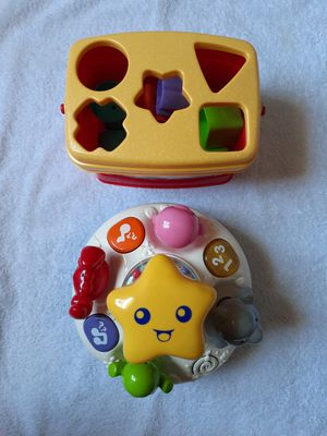 VTech Spin And Learn Top & Fisher-Price Baby's First Blocks for Sale in Kissimmee, FL