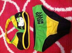 Hello kitty swim wear size 4/5 small for Sale in Forney, TX
