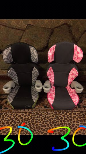 BOOSTER SEAT $30. EACH for Sale in Bakersfield, CA