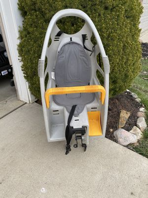 Bike seat for kids 40$ or best offer for Sale in Avon, OH
