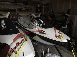 1995 Yamaha jet ski run good just one has time starting sometimes for Sale in Indianapolis, IN