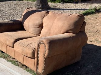 Suede Love Seat for Sale in Phoenix,  AZ