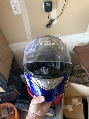Bilt motorcycle helmet for Sale in Clovis, CA
