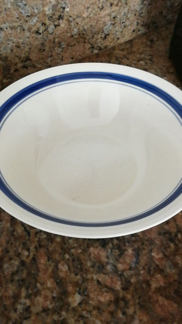 Assorted Dinner Plates and a bowl