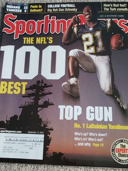 September 13 2004 The Sporting News LaDainian Tomlinson Chargers for Sale in Chambersburg,  PA