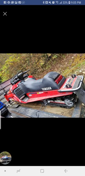 1995 Yamaha VX600 Snowmobile for Sale in Snohomish, WA
