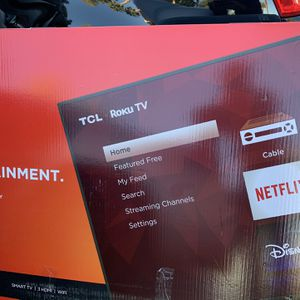 55 inch TCL 4k roku TV for Sale in Henderson, NV