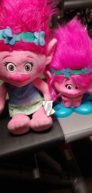 Trolls princess poppy for Sale in Fresno, CA