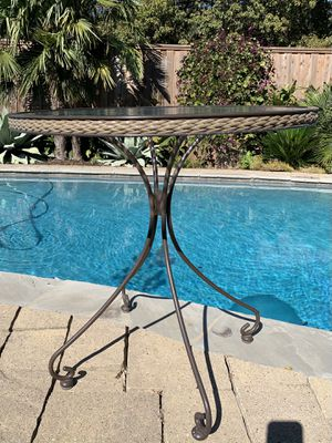 Rod Iron & Glass Patio Table for Sale in Plano, TX