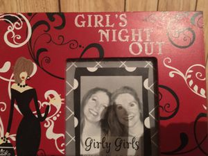 Night out picture frame girl night out for Sale in Victoria, TX