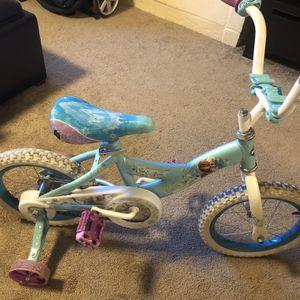Child's Bike With Training Wheels for Sale in Kirkland, WA