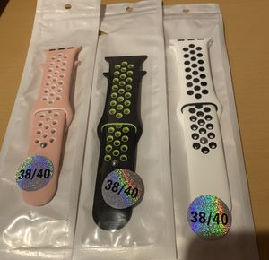 Combo 3 sport bands for Apple Watch 40mm for Sale in Lawrenceville, GA
