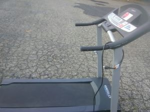 Treadmill works perfectly . (Space Saver) Folds for easy storage & transport. for Sale in Philadelphia, PA