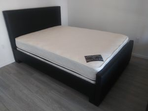 $299 full bed with mattress. And Box Spring brand new free delivery for Sale in Miramar, FL