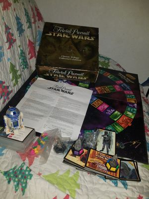 Star Wars Trivial Pursuit Board Game for Sale in Dover, FL