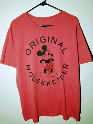 Red Disney Mickey mouse tee mens XL for Sale in Everett, WA