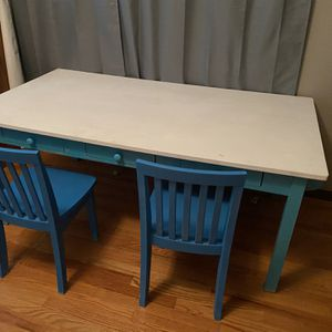 Kids Table With Two Chairs for Sale in Ontario, CA