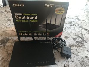 ASUS RT-N66U wireless router with advanced firmware for Sale in Ashburn, VA