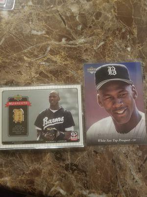 Michael Jordan baseball lot for Sale in Bellevue, WA