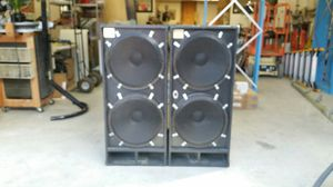 McCauley dual 18 in bass cabinets pro audio for Sale in Woodinville, WA