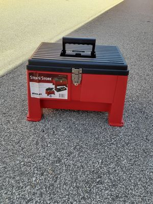Step and store tool box for Sale in Fairburn, GA