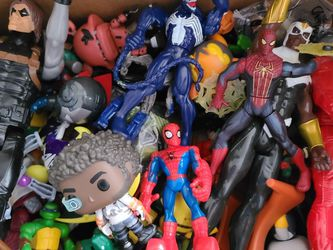 Box Of Action Figures for Sale in Bloomington,  IL